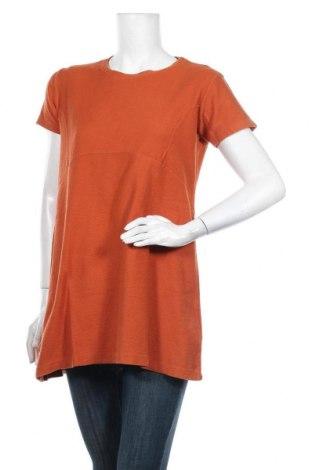 Tunika  Zara Trafaluc, Velikost L, Barva Oranžová, Bavlna, Cena  373,00Kč