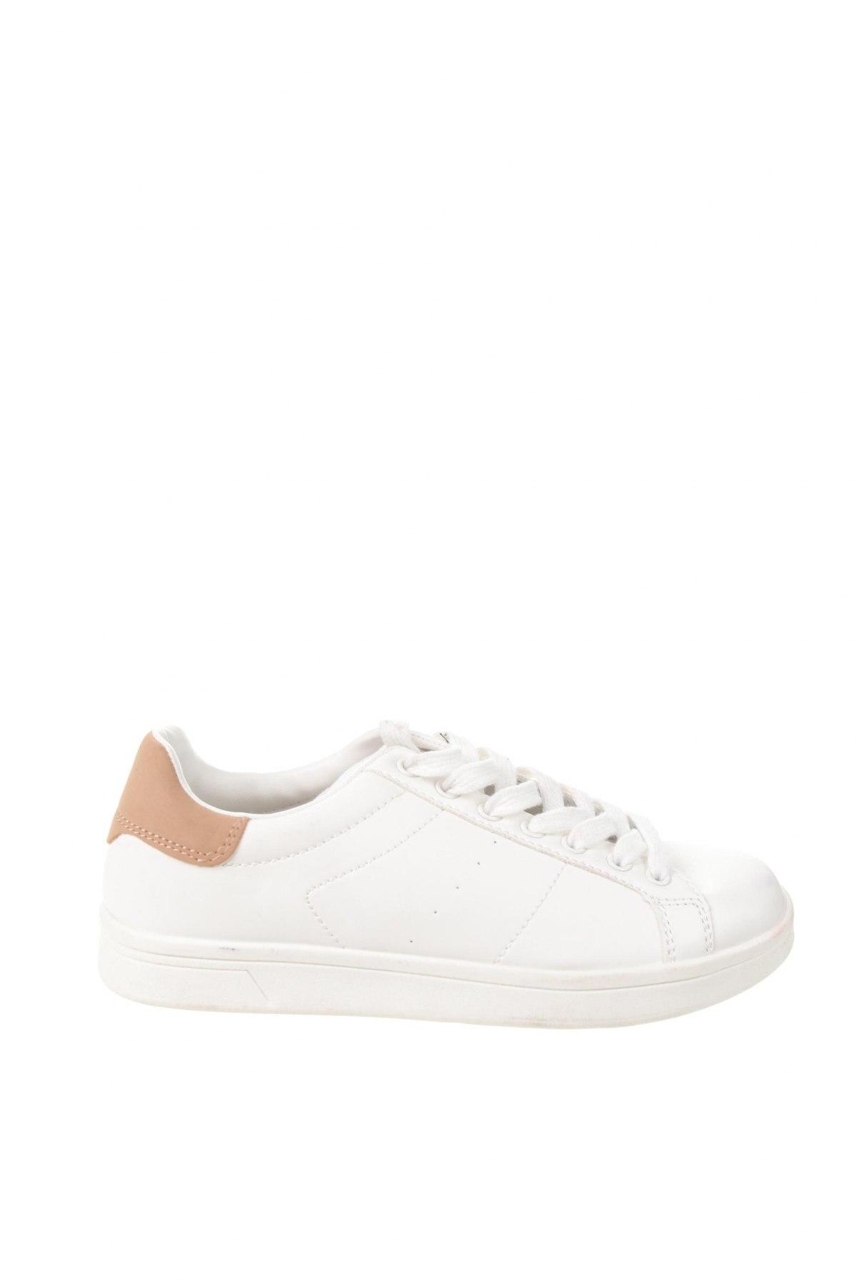 Γυναικεία παπούτσια Lefties, Μέγεθος 35, Χρώμα Λευκό, Δερματίνη, Τιμή 20,10€