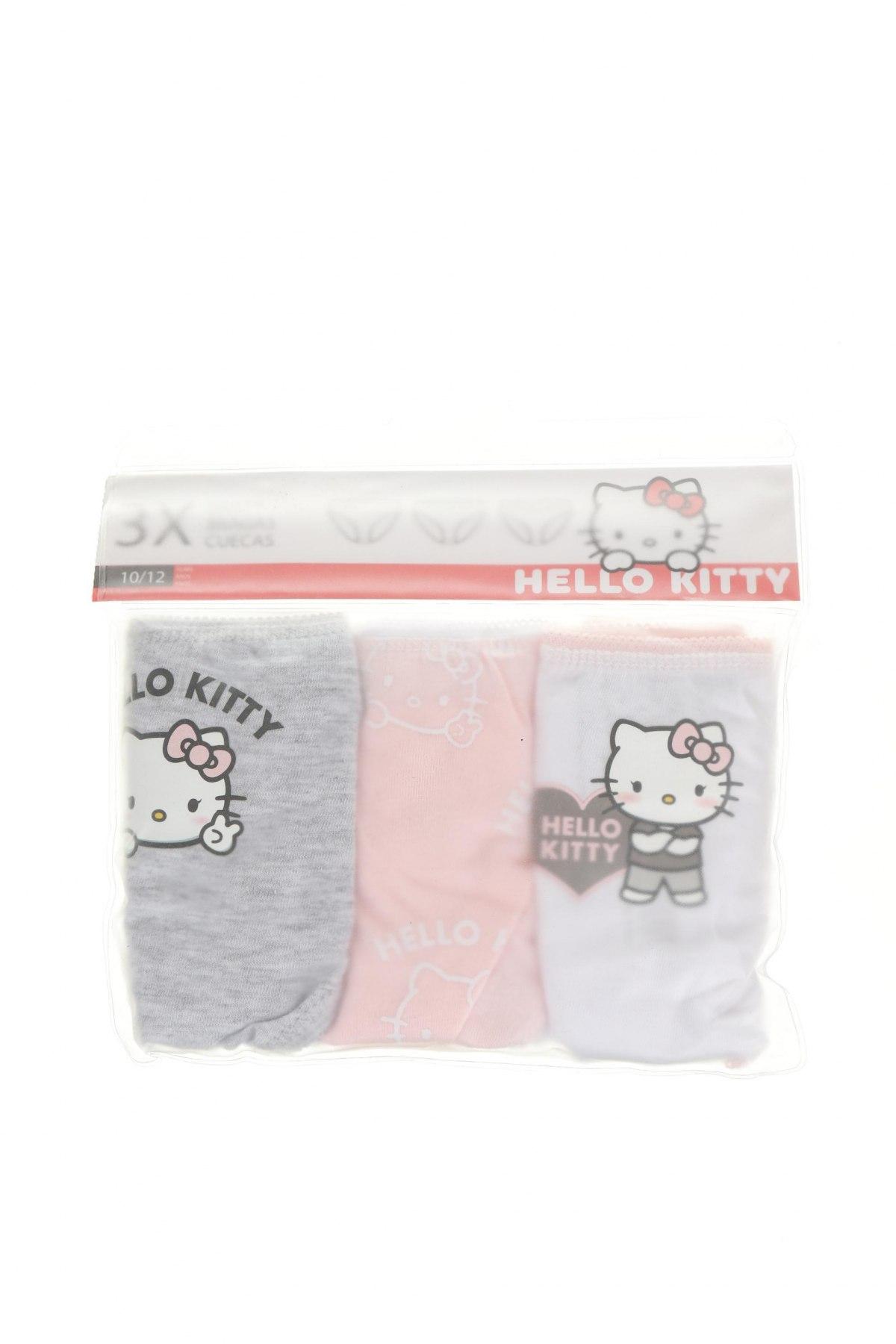Παιδικό σύνολο Hello Kitty, Μέγεθος 11-12y/ 152-158 εκ., Χρώμα Πολύχρωμο, 100% βαμβάκι, Τιμή 11,21€