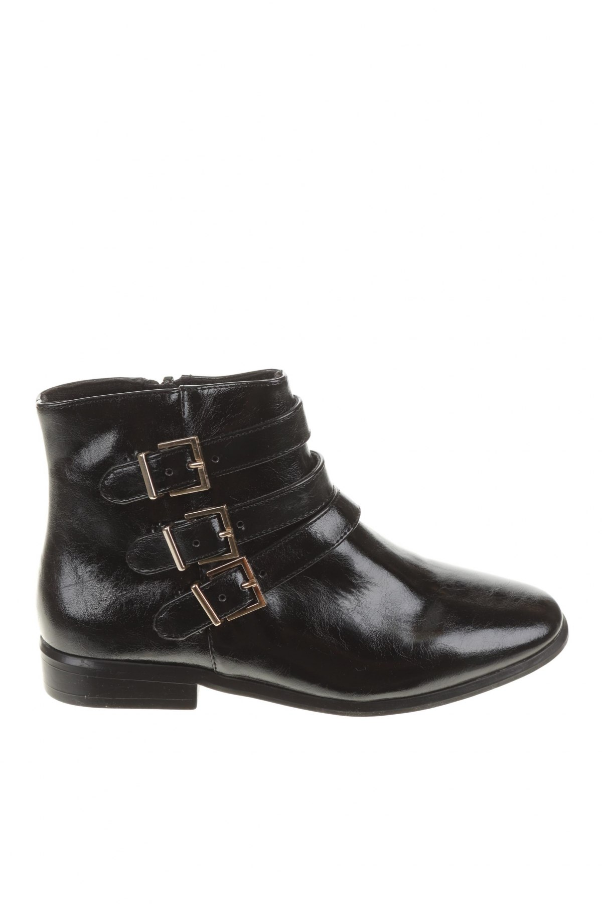 Детски обувки Zara, Размер 32, Цвят Черен, Еко кожа, Цена 17,25лв.