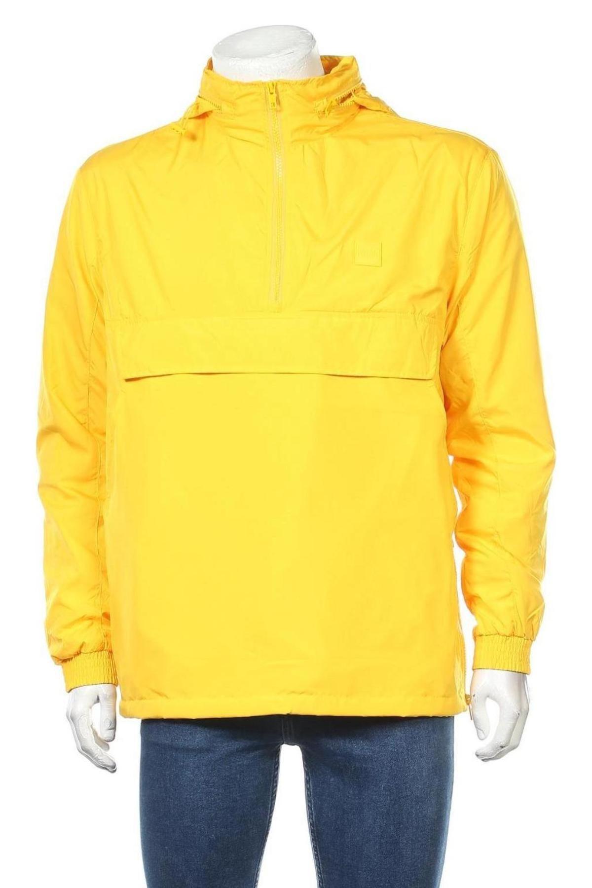 Мъжко яке Urban Classics, Размер M, Цвят Жълт, Полиестер, Цена 33,18лв.