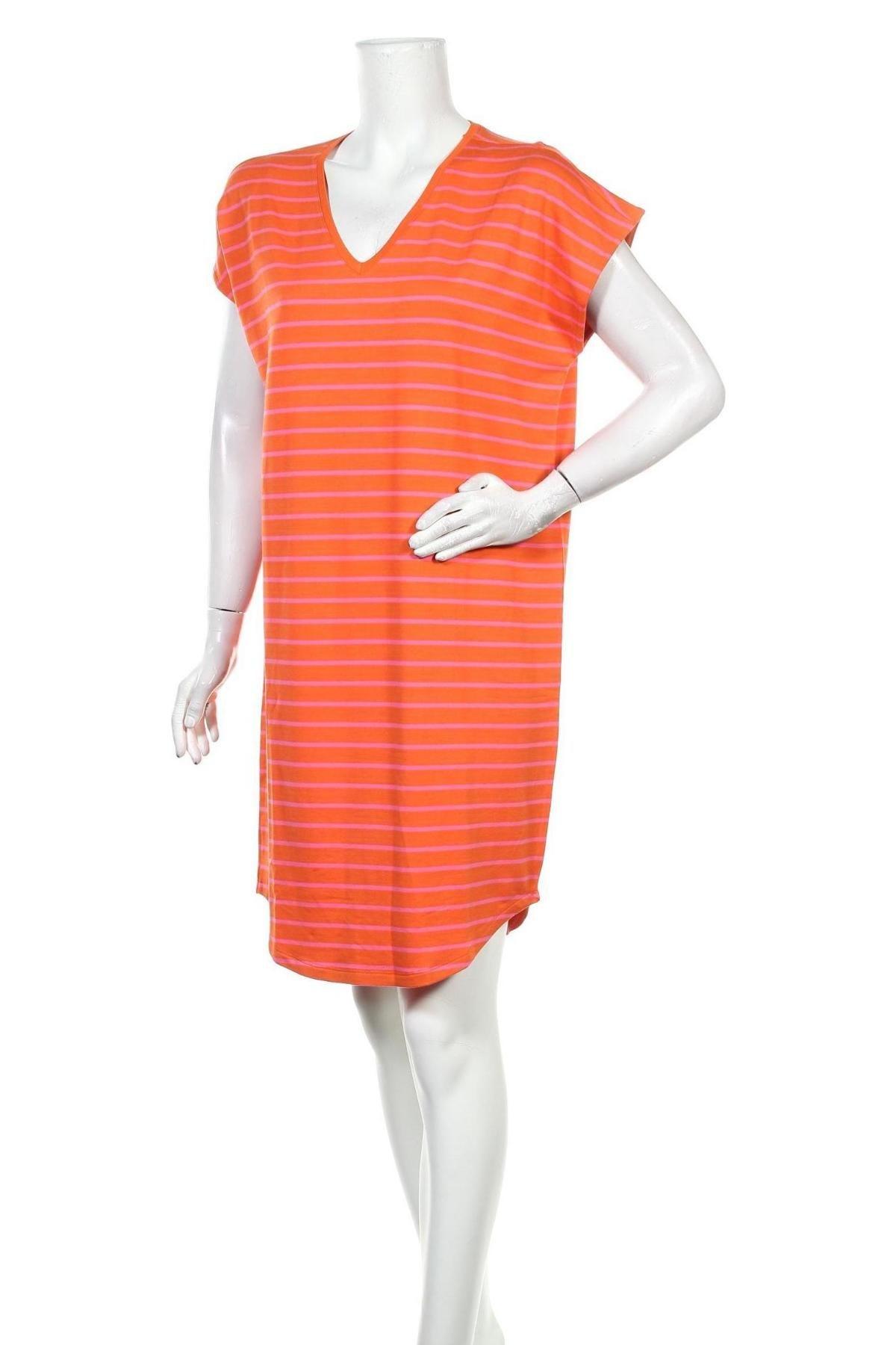 Рокля Culture, Размер M, Цвят Оранжев, 95% вискоза, 5% еластан, Цена 59,25лв.