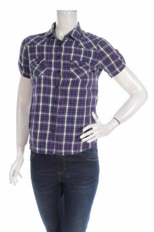 Дамска риза Topshop, Размер XS, Цвят Лилав, Памук, Цена 4,25лв.