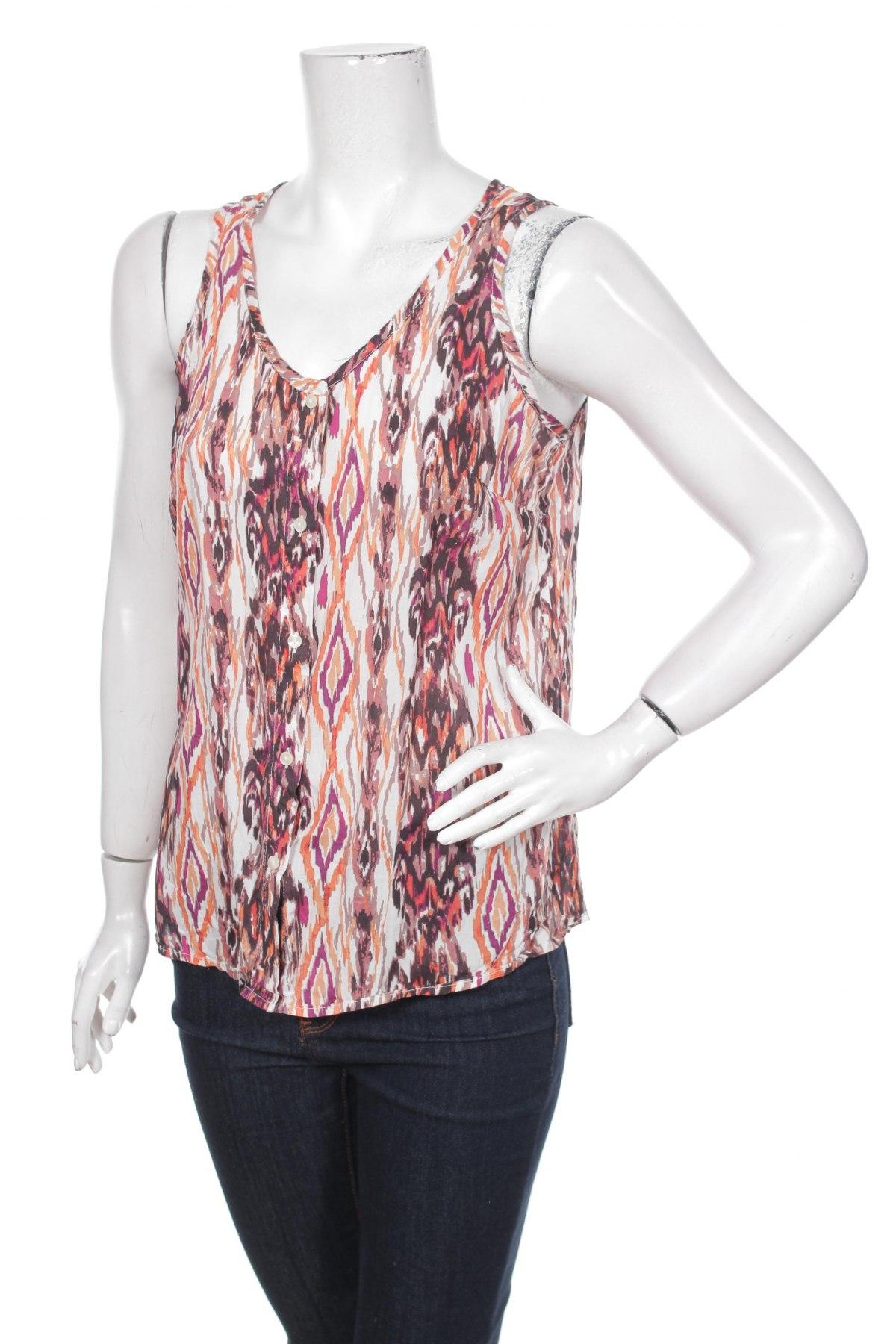 Γυναικείο πουκάμισο Faded Glory, Μέγεθος M, Χρώμα Πολύχρωμο, Βισκόζη, Τιμή 11,13€