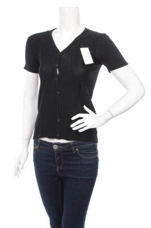 Дамска жилетка, Размер M, Цвят Черен, Цена 8,96лв.