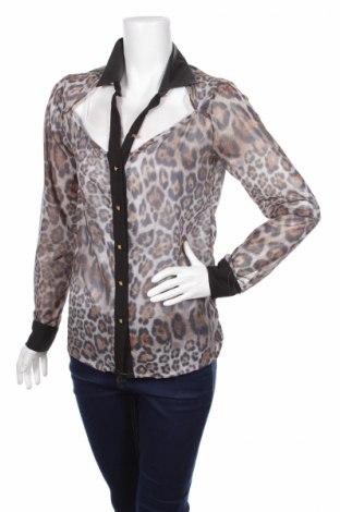 Дамска риза Kikiriki, Размер S, Цвят Многоцветен, 100% полиестер, Цена 13,34лв.