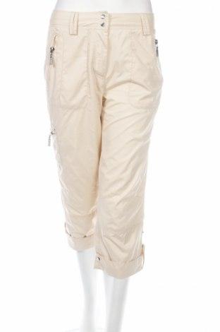 Дамски панталон Valiente, Размер M, Цвят Бежов, Полиестер, Цена 8,34лв.