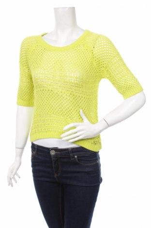 Дамски пуловер Laura Scott, Размер M, Цвят Зелен, 50% акрил, 50% памук, Цена 42,00лв.
