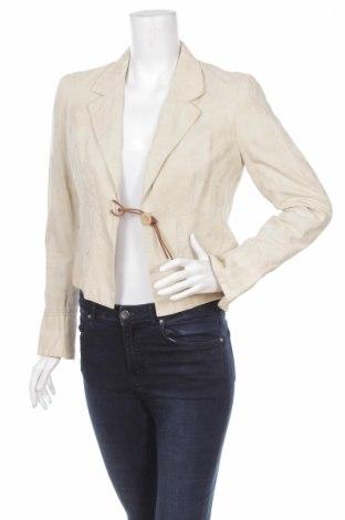 Дамско сако Manoukian, Размер M, Цвят Бежов, 85% памук, 15% лен, Цена 9,50лв.