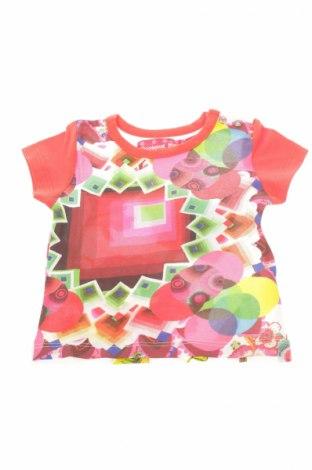 Детска блуза Desigual, Размер 2-3m/ 56-62 см, Цвят Многоцветен, Цена 3,04лв.