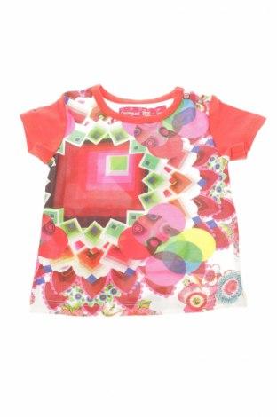 Детска блуза Desigual, Размер 3-6m/ 62-68 см, Цвят Многоцветен, Цена 9,50лв.