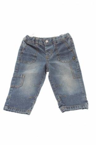 Детски дънки Ergee, Размер 9-12m/ 74-80 см, Цвят Син, Памук, Цена 5,80лв.