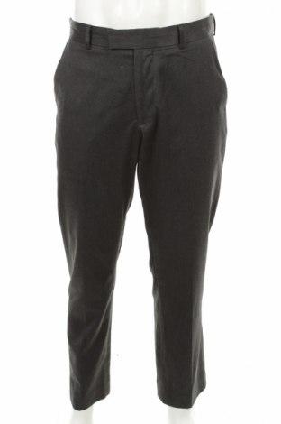 Мъжки панталон F&F, Размер M, Цвят Сив, 65% полиестер, 35% вискоза, Цена 7,00лв.