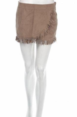Φούστα Bershka, Μέγεθος S, Χρώμα Γκρί, Πολυεστέρας, Τιμή 4,95€