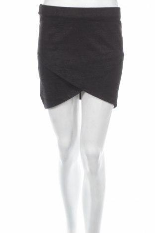 Φούστα Gina Tricot, Μέγεθος M, Χρώμα Μαύρο, 70% βισκόζη, 25% πολυεστέρας, 5% ελαστάνη, Τιμή 7,14€