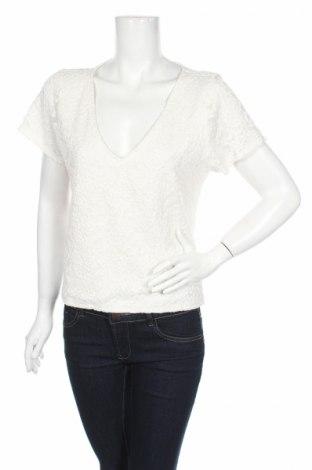 Дамска блуза Abercrombie Kids, Размер XL, Цвят Бял, 57% полиестер, 38% полиамид, 5% еластан, Цена 23,56лв.
