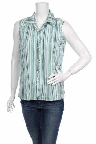 Дамска риза Gelco, Размер L, Цвят Многоцветен, 70% памук, 30% полиамид, Цена 10,77лв.