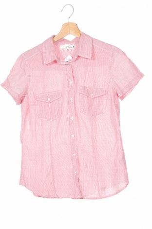 Дамска риза H&M L.o.g.g, Размер M, Цвят Червен, Памук, Цена 5,75лв.