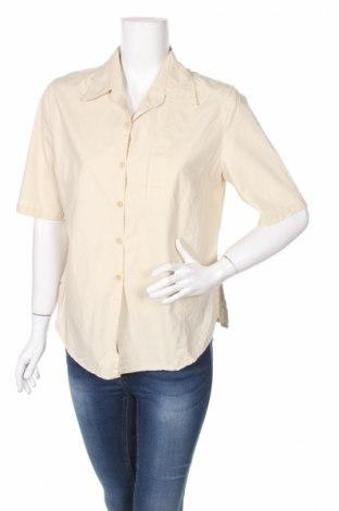 Дамска риза Monari, Размер M, Цвят Бежов, 95% памук, 5% полиестер, Цена 8,50лв.