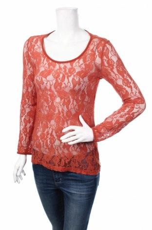 Γυναικείο πουκάμισο Tom Tailor, Μέγεθος S, Χρώμα Πορτοκαλί, Τιμή 7,24€