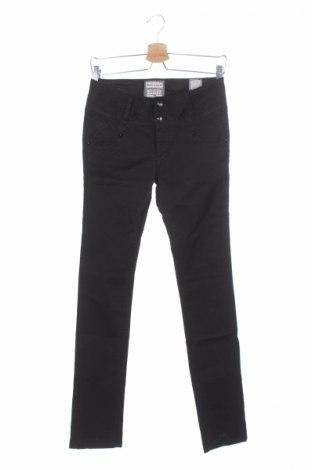 Γυναικείο παντελόνι Bandits Du Monde, Μέγεθος XS, Χρώμα Μαύρο, 98% βαμβάκι, 2% ελαστάνη, Τιμή 21,23€