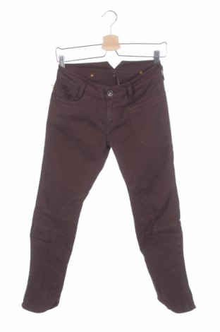 Дамски панталон Replay, Размер S, Цвят Кафяв, 96% памук, 4% еластан, Цена 41,26лв.