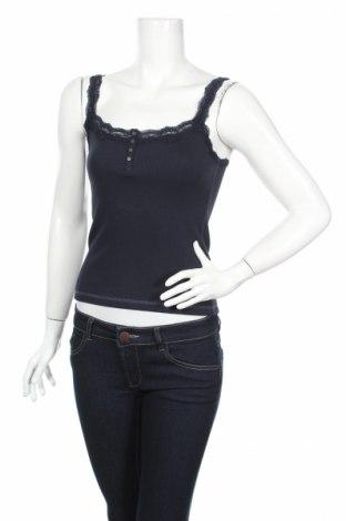 Dámske tielko  Abercrombie & Fitch, Veľkosť M, Farba Modrá, 57% bavlna, 39% polyester, 4% elastan, Cena  13,71€