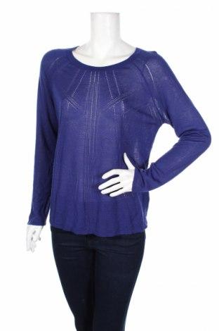 Дамски пуловер Marks & Spencer Autograph, Размер M, Цвят Син, 65% вискоза, 35% акрил, Цена 11,50лв.