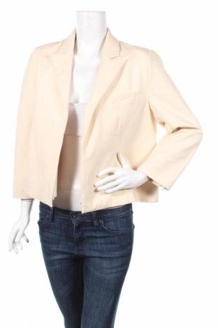 Дамско сако By Malene Birger, Размер L, Цвят Екрю, 65% вискоза, 30% полиамид, 5% еластан, Цена 54,28лв.
