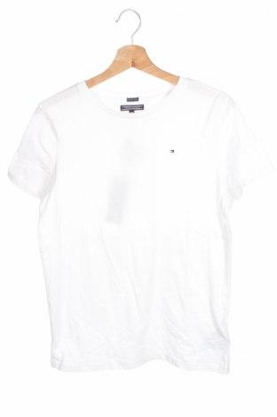 Παιδικό μπλουζάκι Tommy Hilfiger, Μέγεθος 9-10y/ 140-146 εκ., Χρώμα Λευκό, Βαμβάκι, Τιμή 14,74€