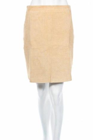 Kožená sukňa  Edited