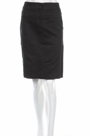 Пола, Размер M, Цвят Черен, 60% памук, 35% полиамид, 5% еластан, Цена 33,80лв.