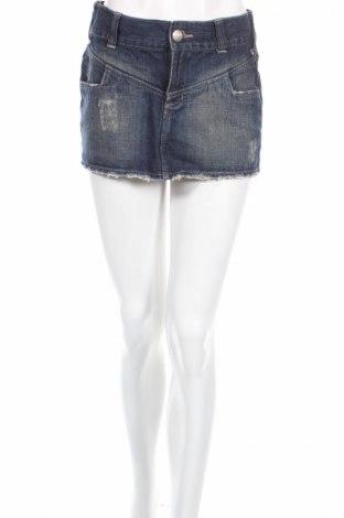 Φούστα Mossimo, Μέγεθος S, Χρώμα Μπλέ, Βαμβάκι, Τιμή 3,40€
