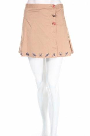 Φούστα Target, Μέγεθος L, Χρώμα  Μπέζ, 98% βαμβάκι, 2% ελαστάνη, Τιμή 5,09€