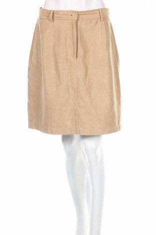 Φούστα Vero Moda, Μέγεθος M, Χρώμα  Μπέζ, Πολυεστέρας, Τιμή 4,42€