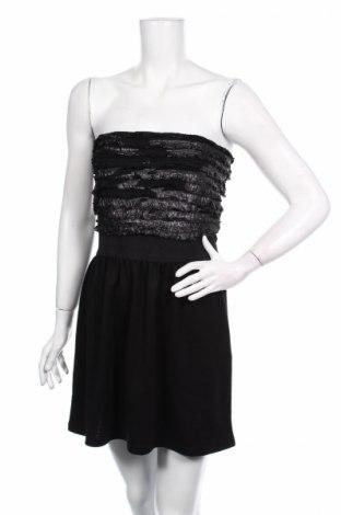 Šaty  Ann Christine, Veľkosť S, Farba Čierna, 96% polyester, 4% elastan, Cena  2,89€