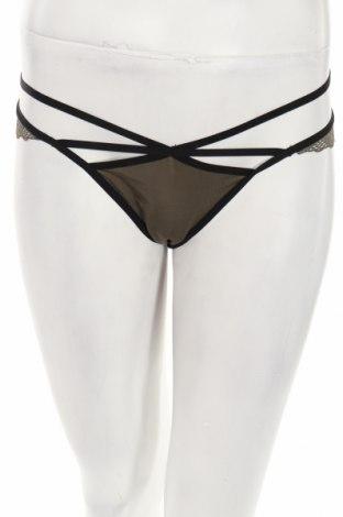 Bikini Hunkemoller, Rozmiar S, Kolor Zielony, 90% poliamid, 10% elastyna, Cena 44,20zł