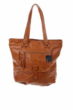 Γυναικεία τσάντα Accessoires, Χρώμα Καφέ, Δερματίνη, Τιμή 32,08€