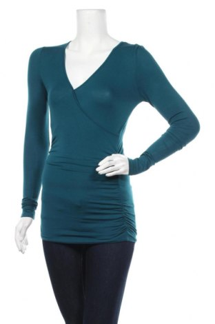Дамска блуза Anthropologie, Размер XXS, Цвят Син, 94% вискоза, 6% еластан, Цена 10,92лв.
