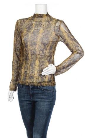 Дамска блуза Ambika, Размер M, Цвят Жълт, 95% полиестер, 5% еластан, Цена 15,96лв.