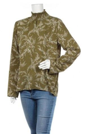 Дамска блуза Ambika, Размер L, Цвят Зелен, 100% полиестер, Цена 16,96лв.