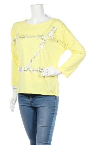 Дамска блуза Ambika, Размер XL, Цвят Жълт, 95% памук, 5% еластан, Цена 30,35лв.