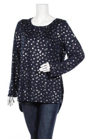 Γυναικεία μπλούζα Gina, Μέγεθος XL, Χρώμα Μπλέ, 95% πολυεστέρας, 5% ελαστάνη, Τιμή 11,72€
