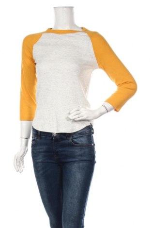 Γυναικεία μπλούζα H&M, Μέγεθος M, Χρώμα Γκρί, 99% βαμβάκι, 2% ελαστάνη, Τιμή 10,39€