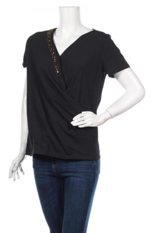 Дамска блуза Lawrence Grey, Размер M, Цвят Черен, Полиестер, Цена 37,92лв.