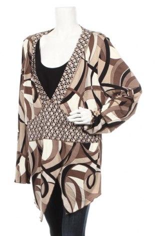 Γυναικεία μπλούζα Miss Etam, Μέγεθος XXL, Χρώμα Πολύχρωμο, 95% βισκόζη, 5% ελαστάνη, Τιμή 12,34€