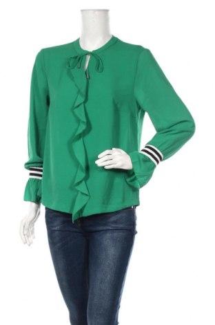 Γυναικεία μπλούζα One Two, Μέγεθος M, Χρώμα Πράσινο, 95% πολυεστέρας, 5% ελαστάνη, Τιμή 13,64€