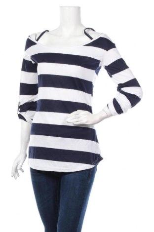 Γυναικεία μπλούζα R.J.Story, Μέγεθος L, Χρώμα Μπλέ, 65% πολυεστέρας, 35% βαμβάκι, Τιμή 12,34€