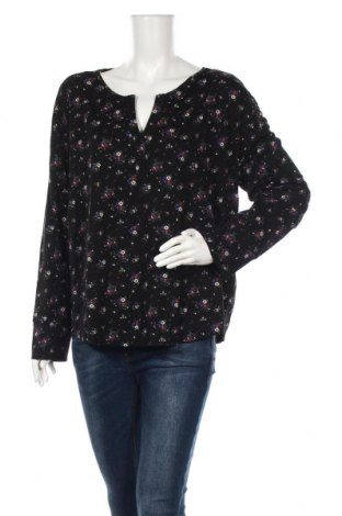 Dámska blúza S.Oliver, Veľkosť XL, Farba Čierna, 50% bavlna, 50% modal, Cena  18,95€