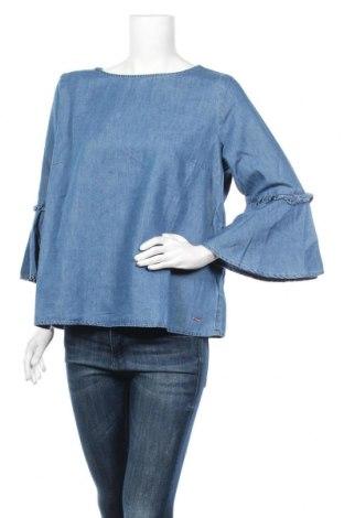 Dámska blúza Tom Tailor, Veľkosť XL, Farba Modrá, 60% bavlna, 40% lyocell, Cena  18,95€